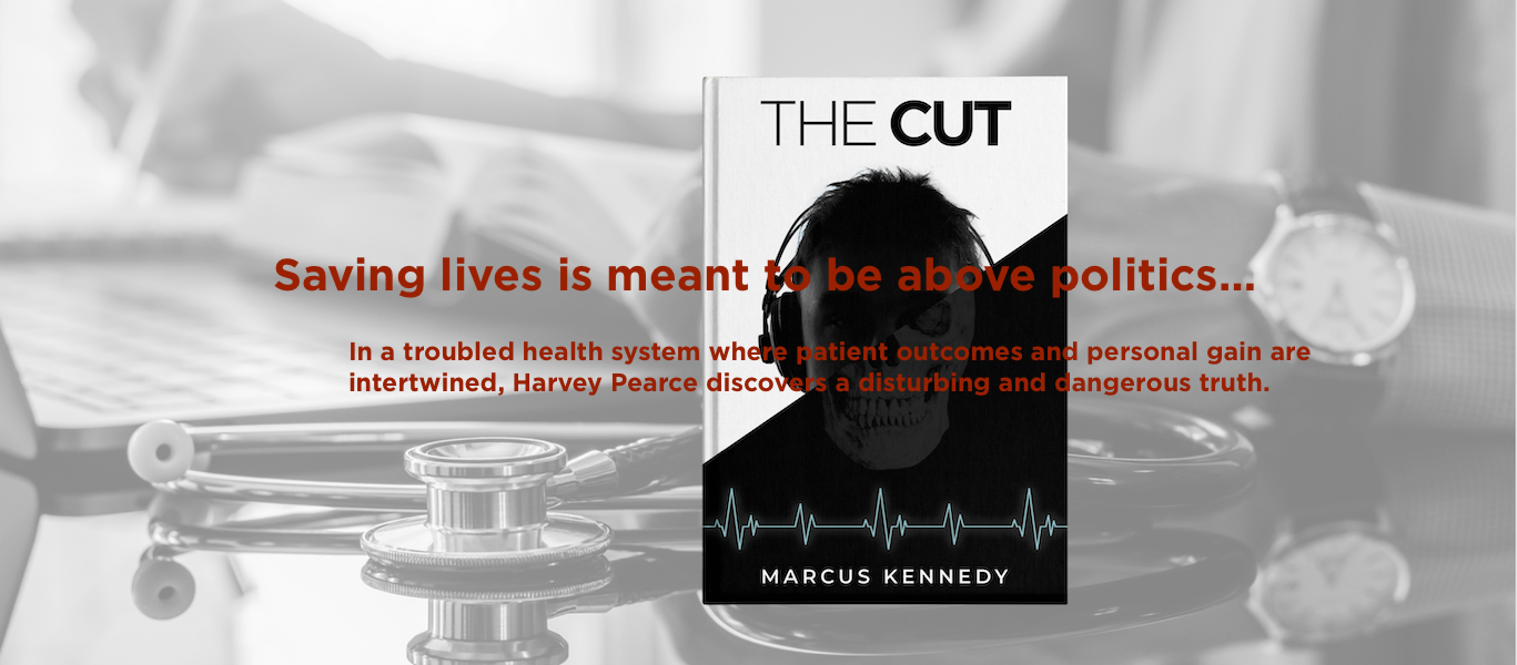 The Cut, Novel, Marcus Kennedy